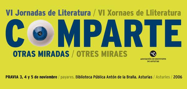 VI JORNADAS LITERATURA