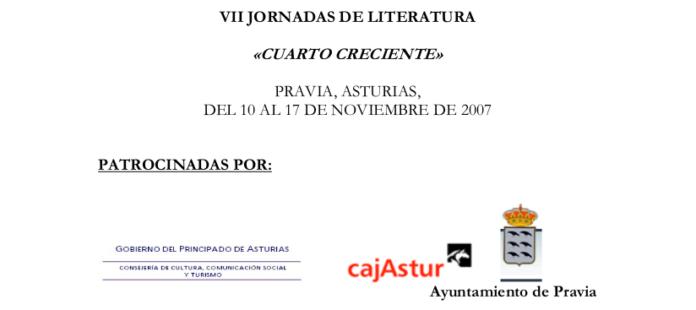 VII JORNADAS DE LITERATURA