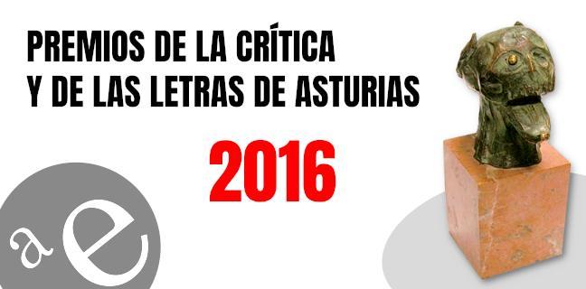Premios de la Crítica y de las Letras de Asturias 2016