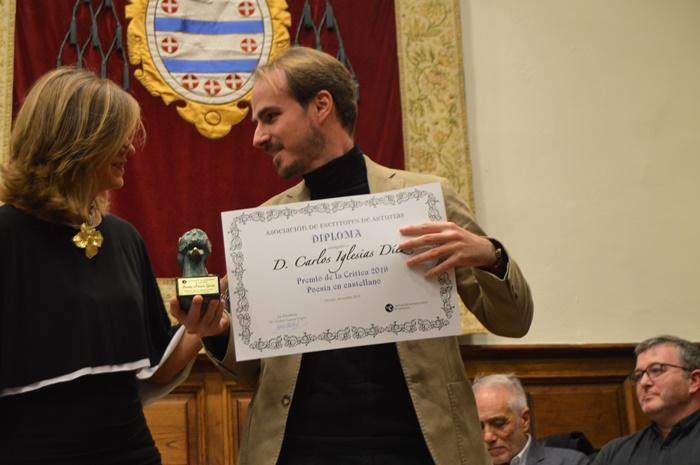 Carlos Iglesias, premio de la Poesía en castellano