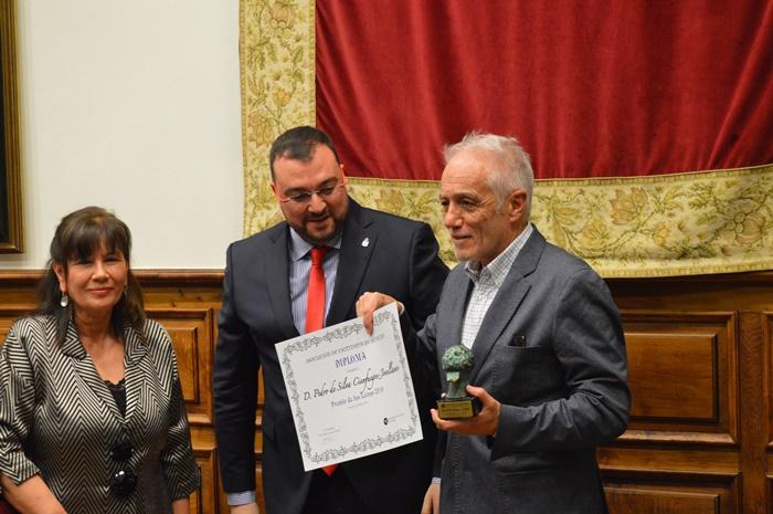 Pedro de Silva, Premio de las Letras de Asturias