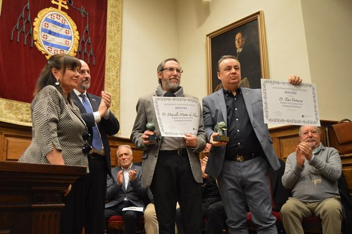 El Premio de Columnismo lo reciben ex aequo Marcelo Matas y Tino Pertierra