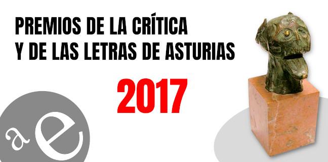 Premios de la Crítica y de las Letras de Asturias 2017
